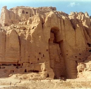 Tall Bamiyan Buddha before being destroyed