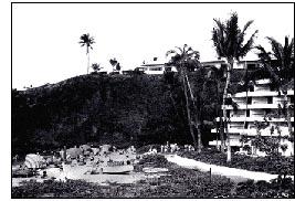 Ka'anapali's Sacred Black Rock