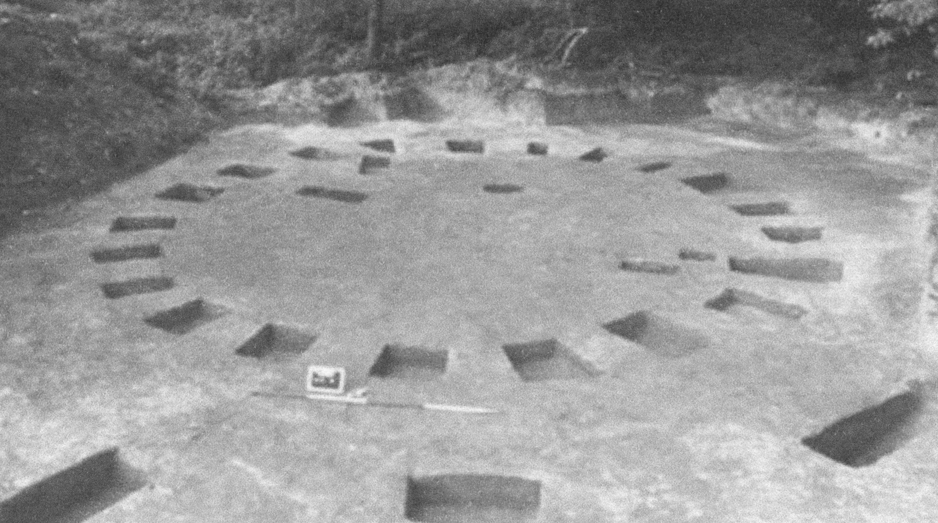 Edegem Circle before its Destruction