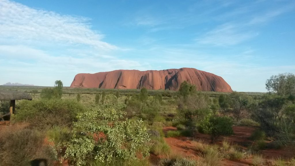 Uluru's Iconic Red Rock - Copyright - Yifei Wu