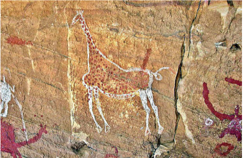 Picture of a cave painting